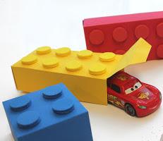 Gift Wrap ideas for kids Lego Gift Box