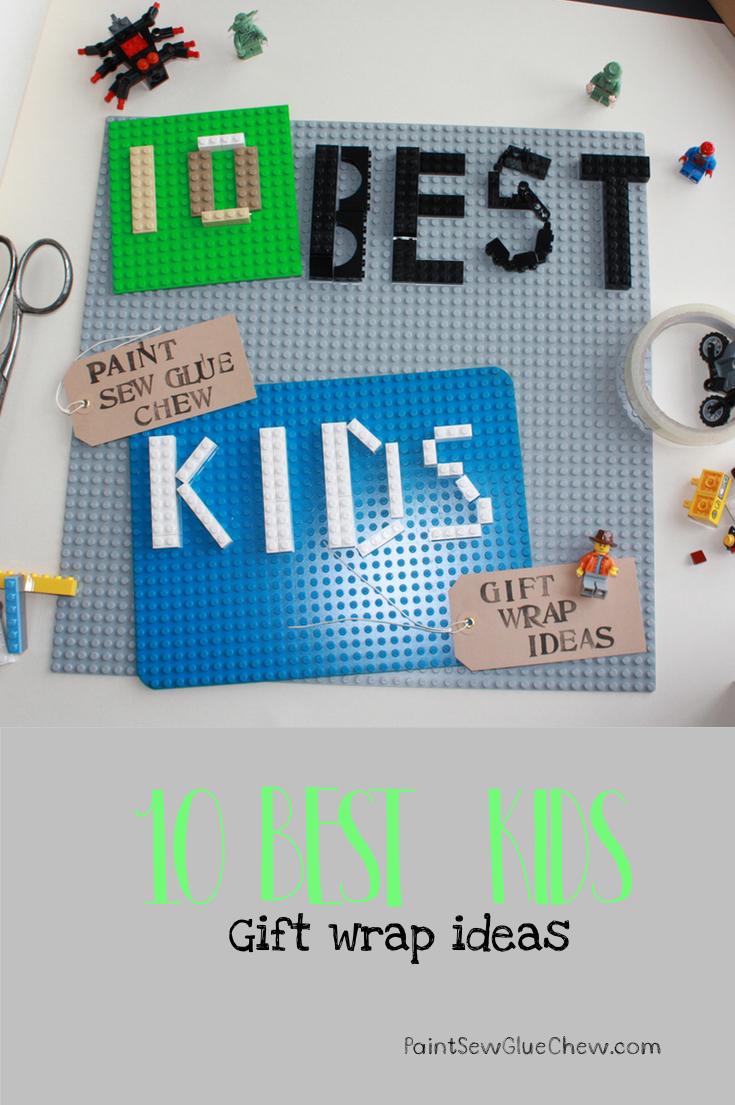Gift Wrap Ideas (4): Gift Wrap for Kids