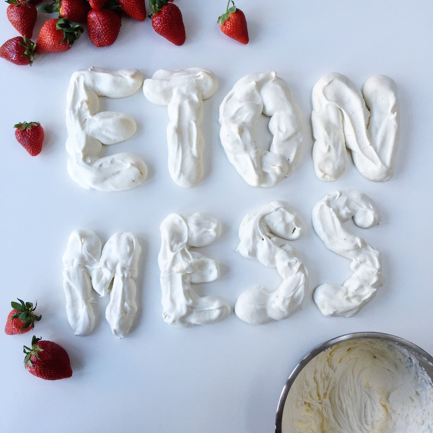 Food as letters