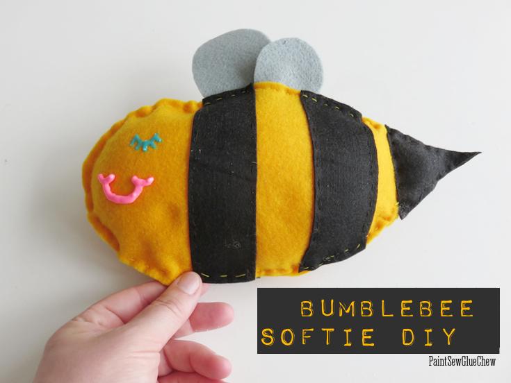 Bumblebee softie