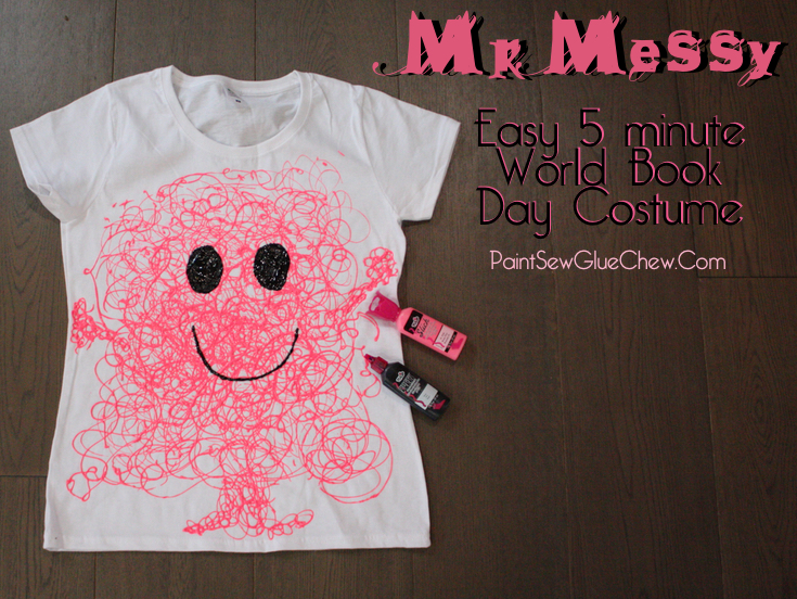 Mr Messy Easy World Book Day Costume