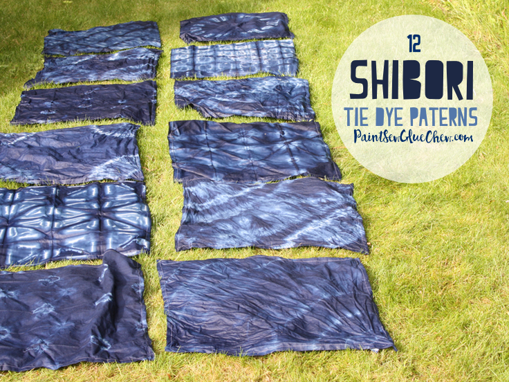 Shibori Tie Dye Craft