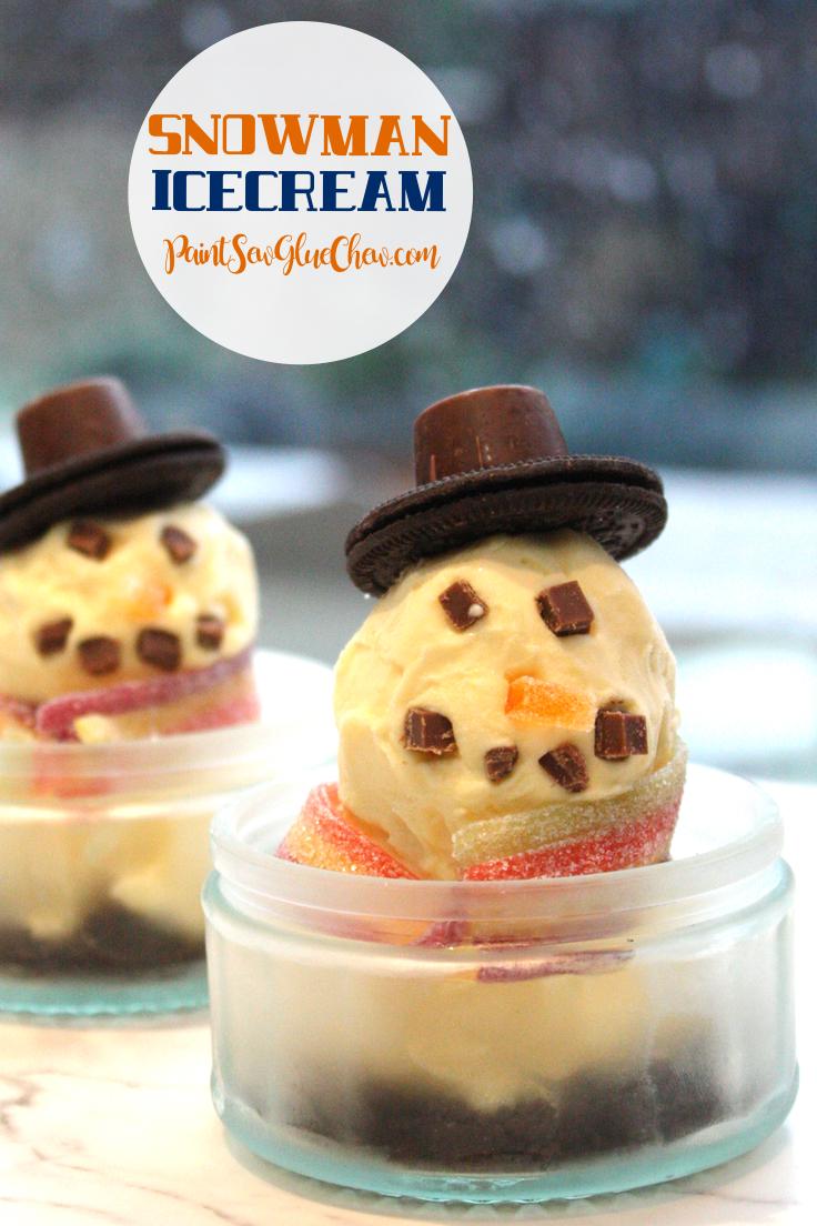 Snowmen Ice cream