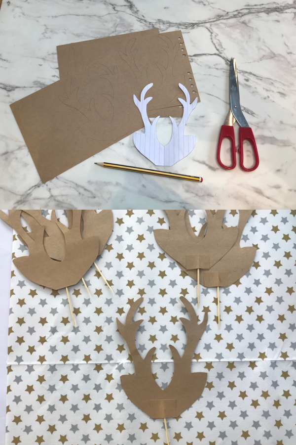 paper antlers